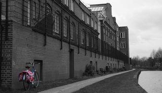 Bike by canal